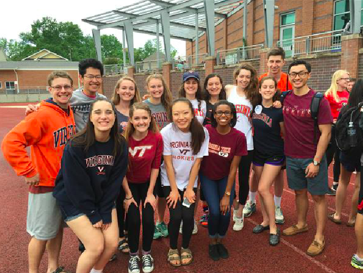 IB Seniors Show their College Pride
