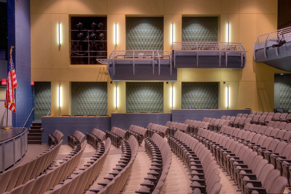 Photo © Hess Construction Auditorium