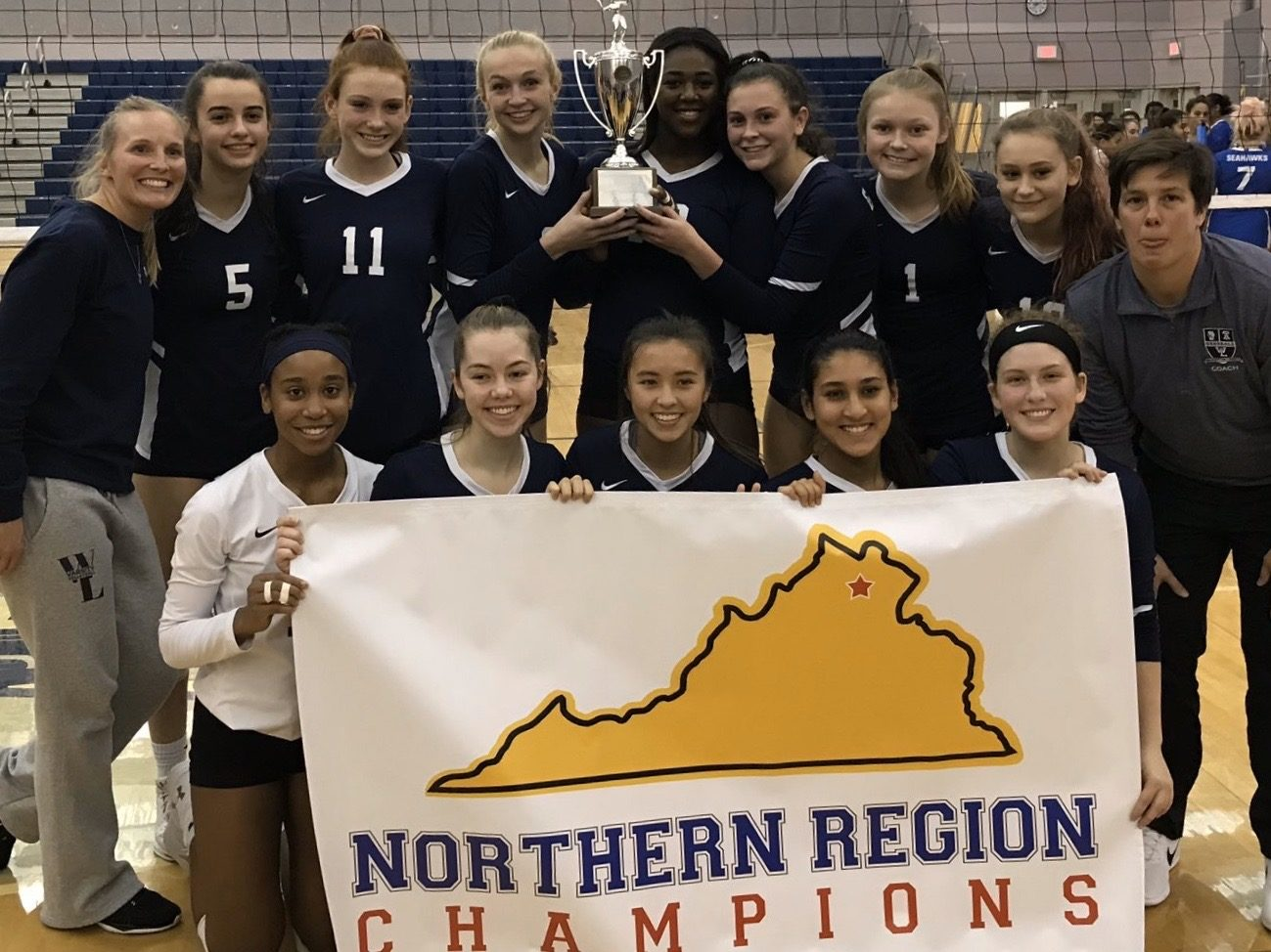Volleyball Advances to VHSL State Tournament, Held at W-L on Saturday (6pm)