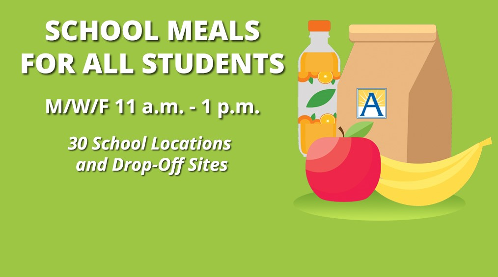 FREE Food for Students at Washington – Liberty HS every Monday, Wednesday and Friday (11am – 1pm)