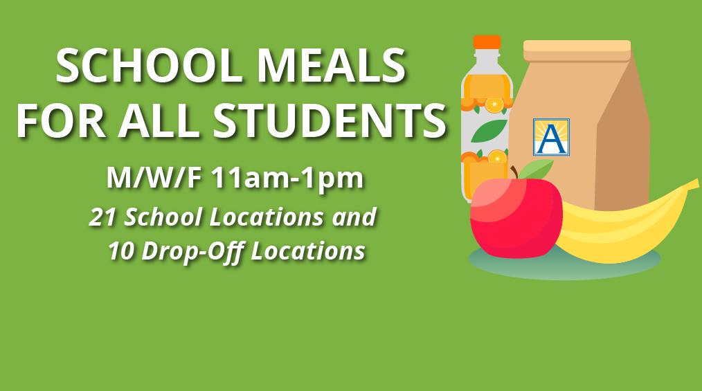 KOSTENLOSES Essen für Studenten in Washington - Liberty HS jeden Montag, Mittwoch und Freitag (11 - 1 Uhr)