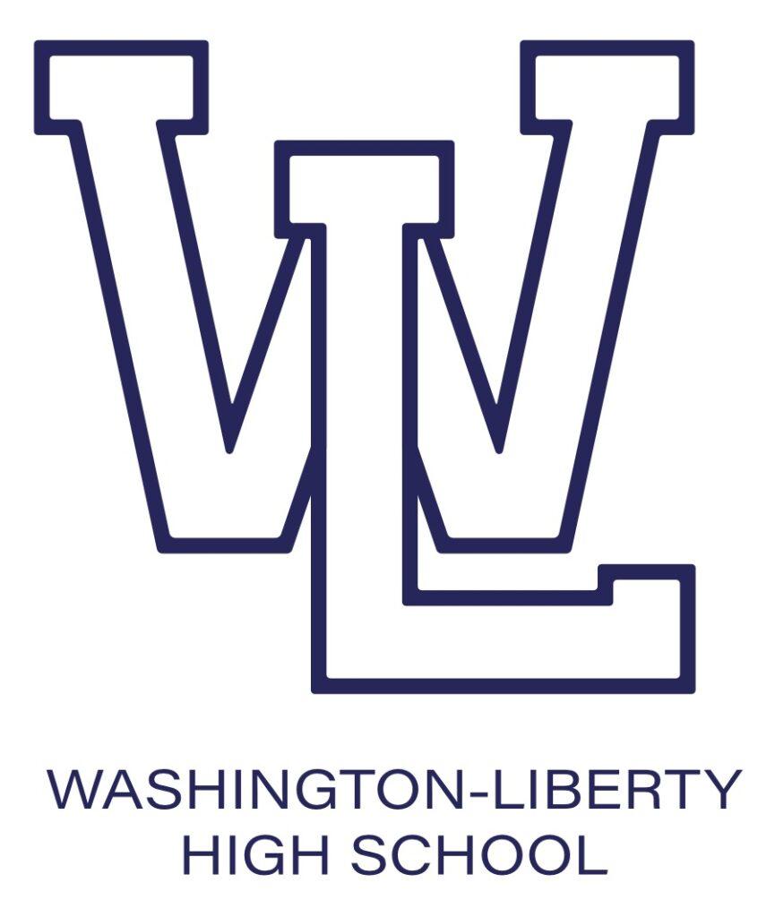 W-L Hybrid Logo Blue Border