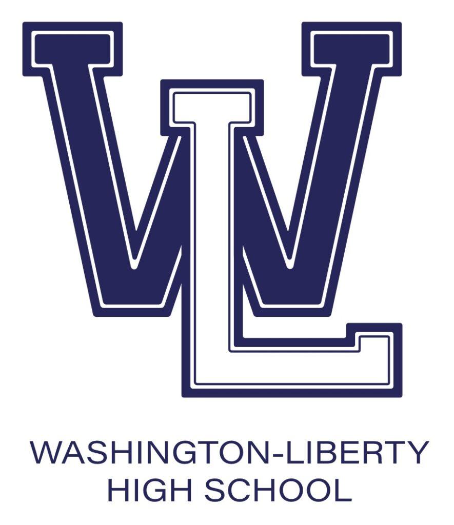 W-L Hybrid Logo blue White