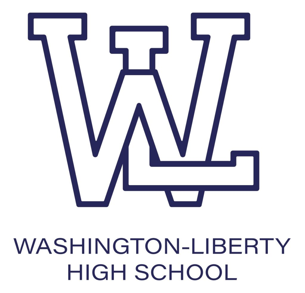 W-L Tangled Logo blue outline