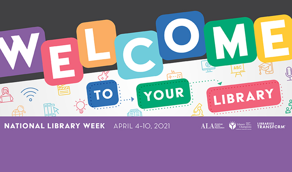 APS: Celebrate National Library Week, April 4 – 10th
